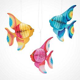 how to make fish scale paper lantern balls