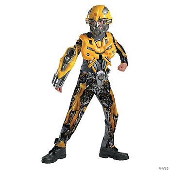 Bumblebee Movie Deluxe Costume