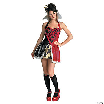 Queen Of Hearts Adult Women's Costume