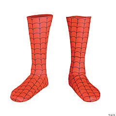 Deluxe Adult Spiderman™ Foot Covers