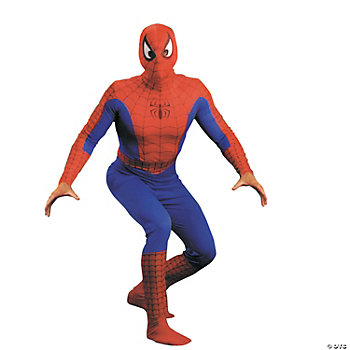 Men's Spiderman Adult Costume