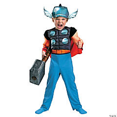 Thor™ Toddler Muscle Boy's Costume