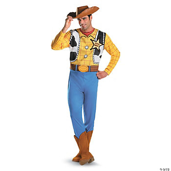 Wear this Woody Classic Adult costume to a masquerade ball or as the perfect ...