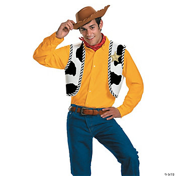 Toy Story Woody Adult Accessories Kit. A Halloween costume isn't a costume ...