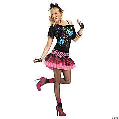 80's Pop Party Adult Women's Costume
