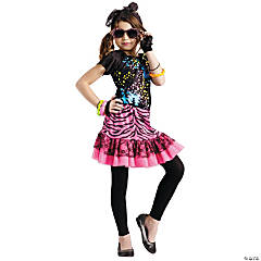 80's Pop Party Girl's Costume