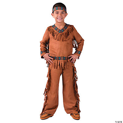 Boy's American Indian Costume