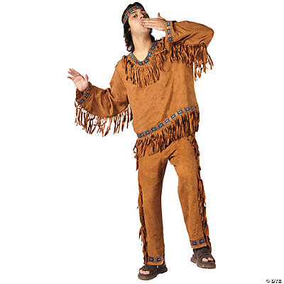 American Indian Man Adult Men's Costume
