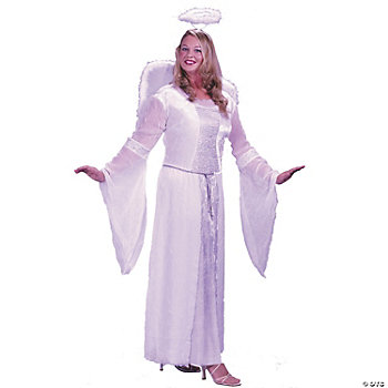 Angel White Plus Size Adult Women's Costume