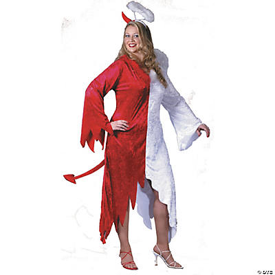 Angel/Devil Adult Women's Costume