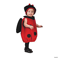 Ladybug Plush Costume for Baby Girls