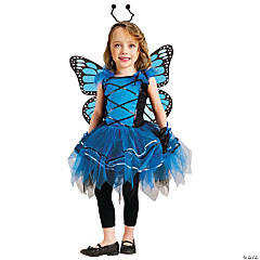 Ballerina Butterfly Blue Costume for Girls