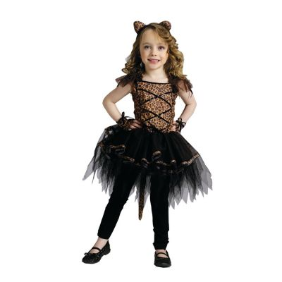 quickview · image of Girls Ballerina Leopard Halloween Costume for Toddlers with skuMC0695TD2  sc 1 st  Oriental Trading & Girlu0027s Green Ballerina Witch Costume