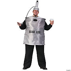 Beer Keg Plus Adult Men's Costume
