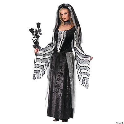 Black Rose Spirit Adult Women's Costume