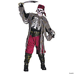 Buccaneer Bones Pirate Boy's Costume