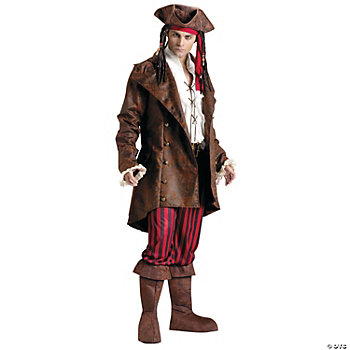 Buccaneer Jacket Adult Men's Costume