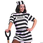 Convict Woman Adult Women's Costume