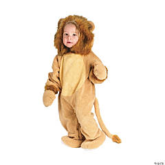 Cuddly Lion Child's Costume