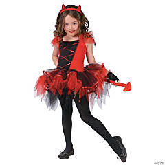Devilina Girl's Costume