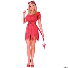 Devilish Adult Women's Costume