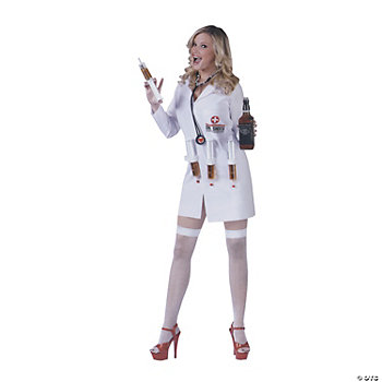 Dr Shots Female Adult Women's Costume