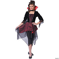 Dracula Lady Girl's Costume