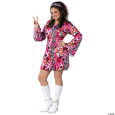 Feelin Groovy Plus Size Adult Women's Costume
