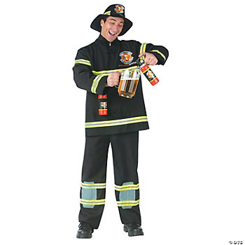 Fill Er' Up Fireman Adult Costume