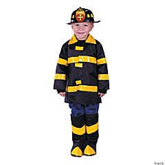 Fireman Toddler's Costume