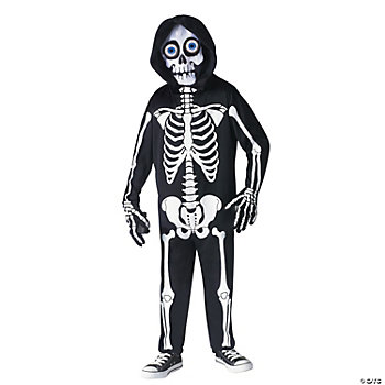 Fright Light Skeleton Boy's Costume