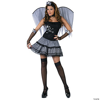 Funky Punk Fairy Adult Women's Costume