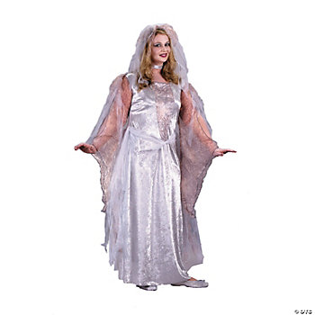 Ghostly Goddess Plus Size Adult Women's Costume