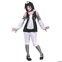Goth Ann Small/Medium Adult Women's Costume