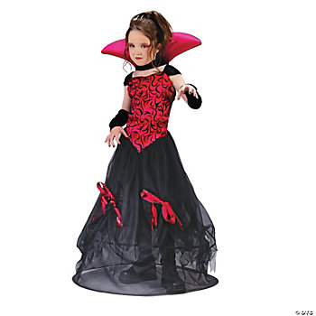 Goth Bloodstone Vamp Girl's Costume