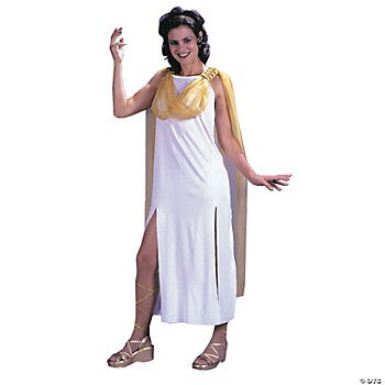 Grecian Goddess With Cape Adult Women's Costume