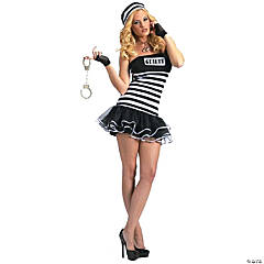 Guilty Conscience Adult Women's Prisoner Costume