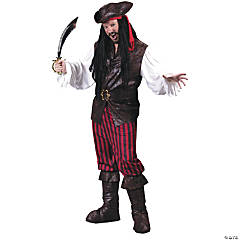High Seas Buccaneer Pirate Costume for Men