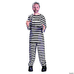 Jailbird Child's Costume