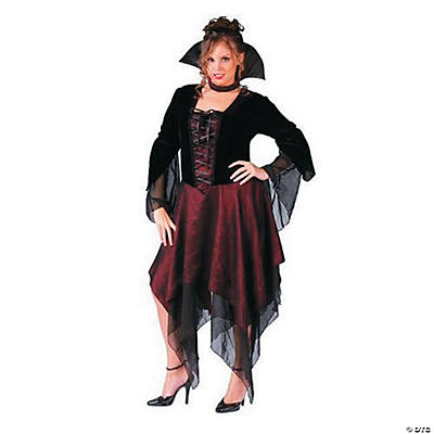 Lady Dracula Adult Plus Size Women's Costume