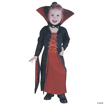 Lil Victorian Vampire Toddler Girl's Costume