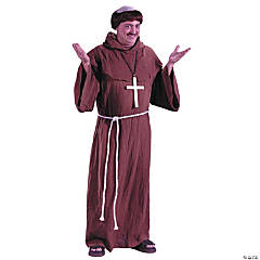 Medieval Monk Adult Men's Costume