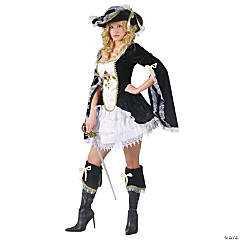 Midnight Musketeer Adult Women's Costume