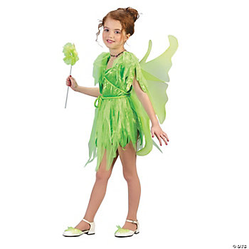 Neverland Fairy Girl's Costume