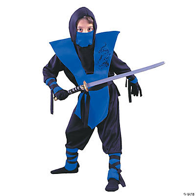Ninja Complete Blue Boy's Costume