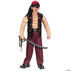 Muscle Pirate Boy's Costume