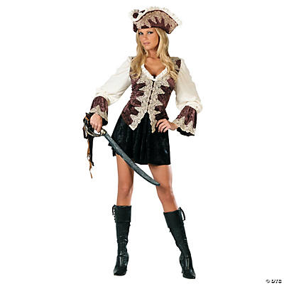 Royal Lady Pirate Adult Women's Costume
