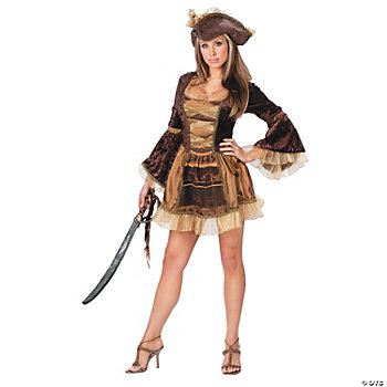 Pirate Sassy Victorian Adult Women's Costume