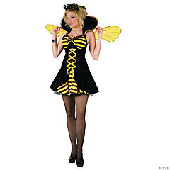 Sexy Queen Bee Adult Women's Costume