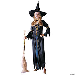 Renaissance Witch Girl's Costume